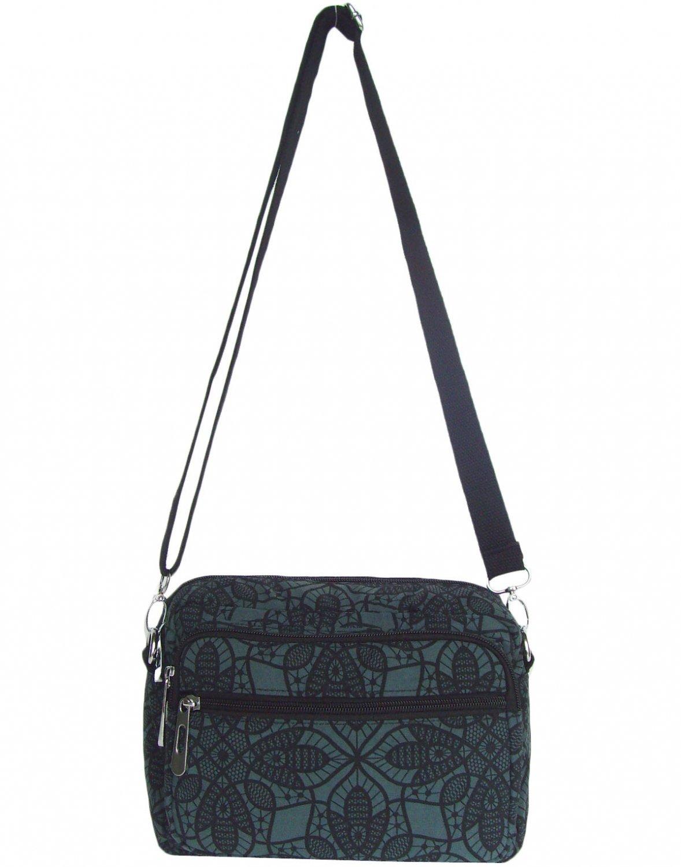 HONG YE Pure Stripe Slouch Bag,sku:hb81green3