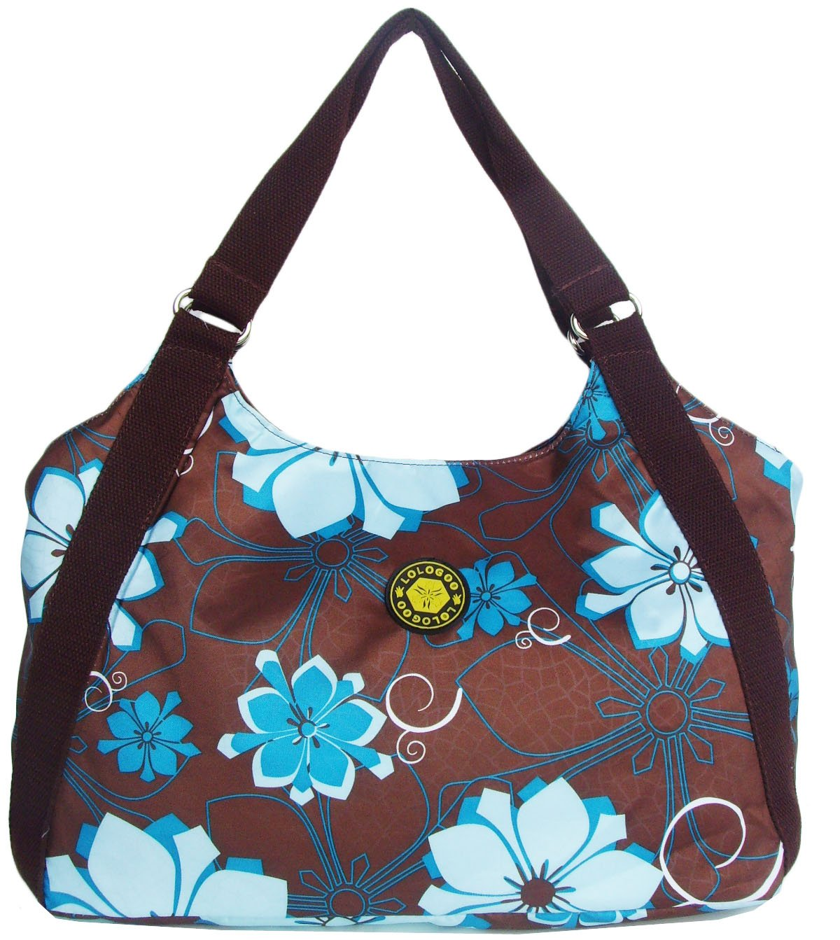 HONG YE Pure Stripe Slouch Bag,sku:hb82brown3