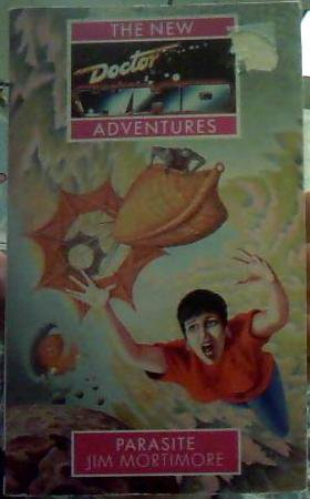Dr Who New Adventure paperback book 'Parasite' by Jim Mortimore