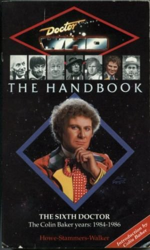 The sixth Doctor Who Handbook paperback