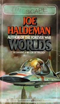 Worlds by Joe Haldeman paperback book 1st Edition 4/82