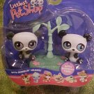 Littlest Pet Shop TWIN PANDAS Pet Pairs NIP