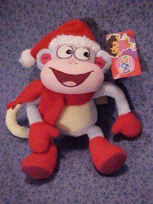 Dora The Explorer BOOTS Holiday Plush Gund Doll NWT