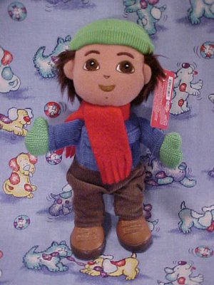 Dora The Explorer GO DIEGO Holiday Plush Gund Doll NWT