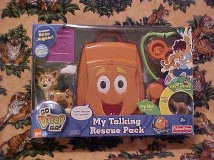 Dora The Explorer GO DIEGO GO Talking Rescue Pack NIB