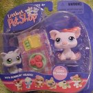 Littlest Pet Shop POT BELLY PIG & KITTEN Pet Pairs NIP