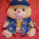 Care Bears FUNSHINE BEAR WEAR Plush 10in. NWT