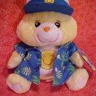 Care Bears FUNSHINE BEAR WEAR Plush 10in. NWT