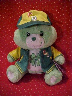 Care Bears GOODLUCK Team Spirit Plush 10in. NWT