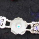 Swarovski silver and crystal bracelet