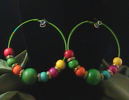 """Basketball Wives Celebrity Inspired Hoops  """"Candylicious"""""""