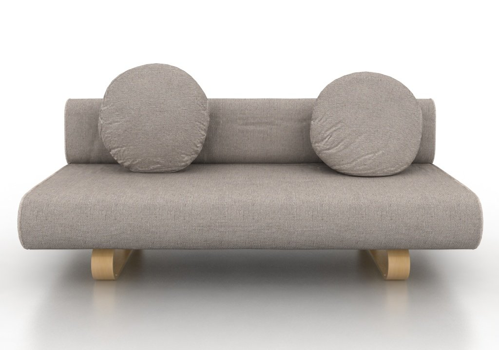 Ikea Allerum Sofabed Custom Slipcover In Lino Brushed