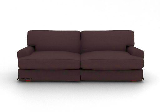 Ikea Ekeskog 3 Seater Custom Slipcover In Gaia Cafe