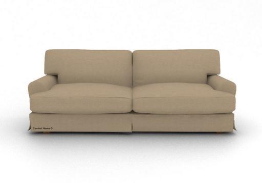 ikea ekeskog 3 seater custom slipcover in gaia flax. Black Bedroom Furniture Sets. Home Design Ideas
