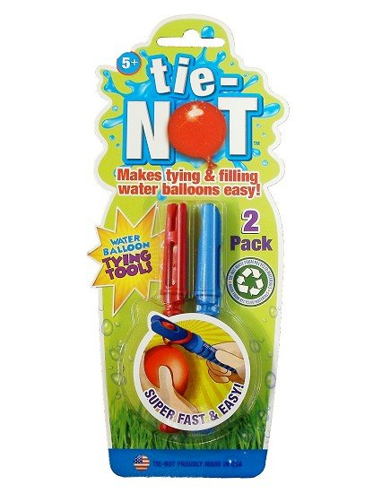 Tie Not Water Balloon Tying Tool (2PK)