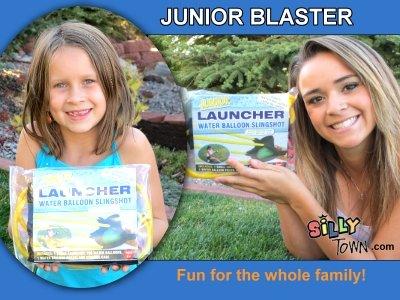 JUNIOR BLASTER Water Balloon Launcher Slinghsot