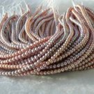 "wholesale 16"""" 5-6mm purple pearl necklace strings"