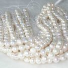 """wholesale 16"""""""" 10-11mm white pearl necklace strings"""