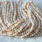 """wholesale 16"""""""" 5-6mm multicolor pearl necklace strings"""