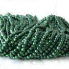"wholesale 16"""" 6-7mm green pearl necklace strings"
