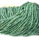 "wholesale 16"""" 5-6mm green pearl necklace strings"