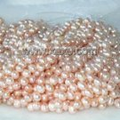 """wholesale 16"""""""" 7-8mm pink pearl necklace strings"""