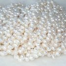 """wholesale 16"""""""" 7-8mm white pearl necklace strings"""