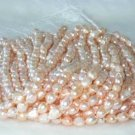 """wholesale Baroque 16"""""""" pink pearl necklace strings"""