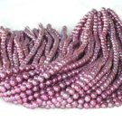 "wholesale 6-7mm 16"""" wine-red pearl necklace strings"