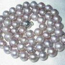 "17"""" lustrous 7-7.5mm lavender pearl necklace"
