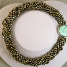 """Beautiful 8rows 16"""""""" 4-5mm purple Pearl necklace cameo clasp"""