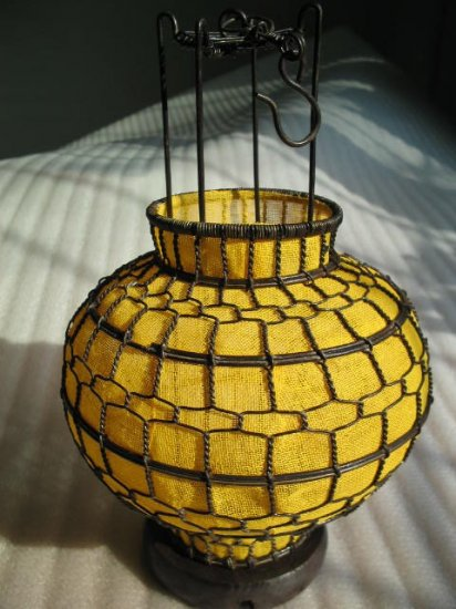 Chinese traditional lantern-yellow