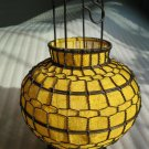 Chinese traditional lantern-yellow