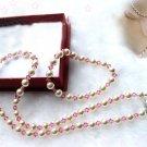 Single south sea shell Pearl & Crystal Necklace & Bracelet