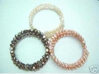 WHOLESALE 3PIECE Baroque cultured pearl Bracelet