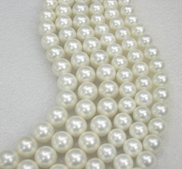 WHOLESALE 5PCS SUPERB SOUTH SEA SHELL PEARL NECKLACES