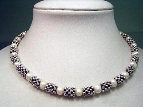 elegance 15.5'' single stand cultured pearls necklace