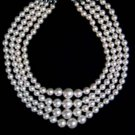 elegant 16-19'' 8-14MM Tahiti sea shell PEARL NECKLACE