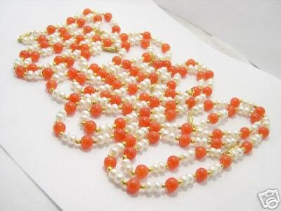 wholesale 4 pcs FW pearl and jade Necklace & bracelet