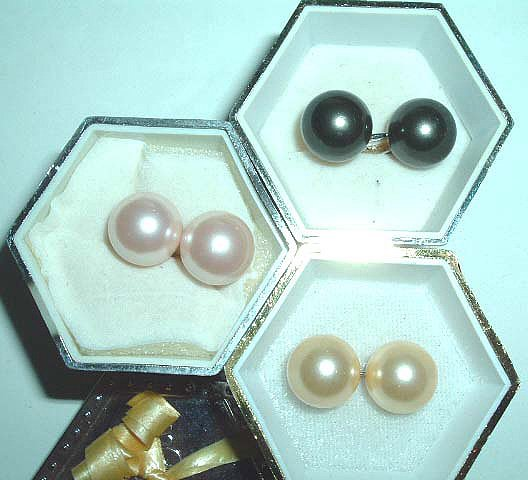 wholesale Superb 10pairs south sea shell earrings 925s