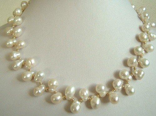 pignut shape pearl necklace clasp 9k