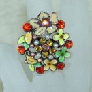 Rhinestone ring shine RG