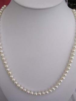 24'' 8mm fresh water pearl necklace