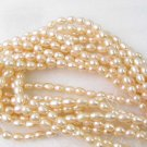 wholesale 10 strands 16'' pink pearl necklace