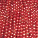 10 strand 6-7 mm red freshwater pearl string