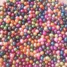 100 pcs 5 mm mix potato freshwater pearl beads