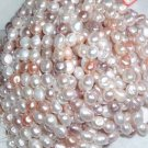 A++ 8 strand 10-11x13 mm grotesquery freshwater pearl