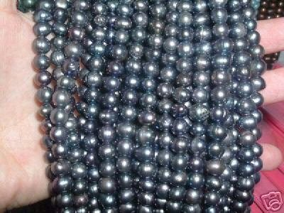 A++ 10 strand 6-7 mm potato freshwater pearl