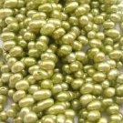 wholesale 20 strand 6-7mm potato shape fw pearl-green