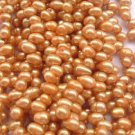 wholesale 20 strand 6-7mm potato shape fw pearl-orange
